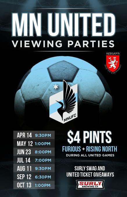 Football time! Minnesota United Viewing Parties