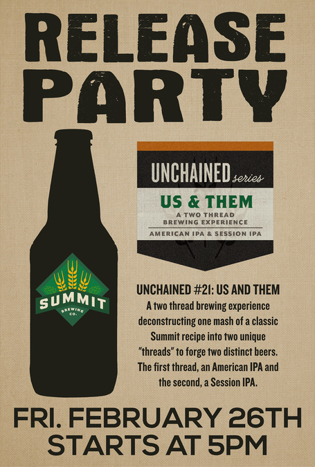 Release Party: Unchained #21 - Us & Them