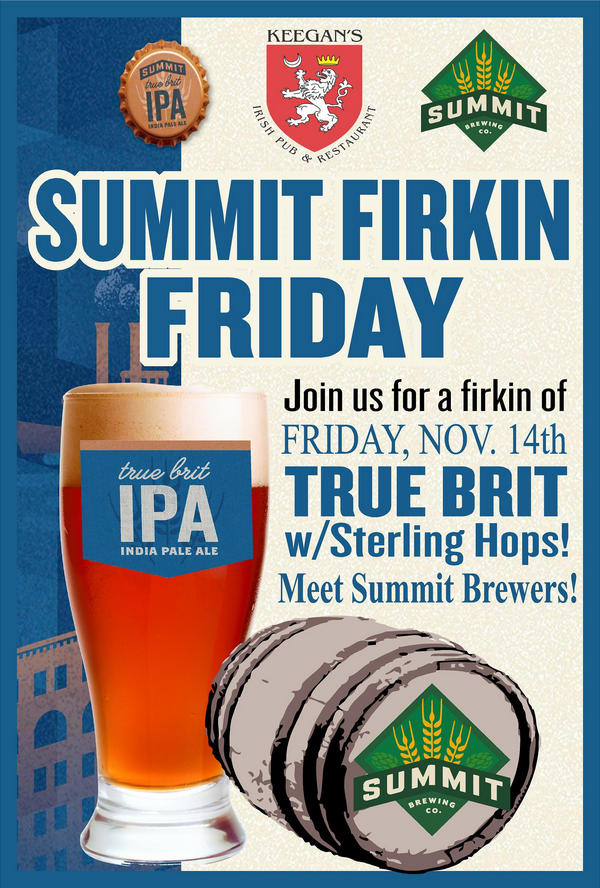 Firkin Friday is coming!!
